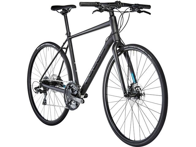 FOCUS Arriba 3.8 Trekkingcykel sort (2019) | City-cykler